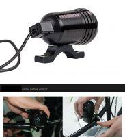 U1 12v led motorcycle light mini fog lamp for motorcycle Waterproof headlight for motorcycle