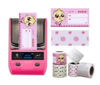 DeTong DP23P 2 inch Color Portable Direct Thermal Barcode Sticker Printer for Jewelry Price Tag Printing