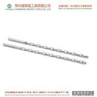 Solid tungsten carbide deep hole drill bit tools with coolant-through drilling WTFTOOLS