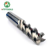 wtftools 4 Flutes Tungsten Carbide End Mill Cutters For CNC Milling Machinery