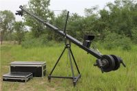 Remote head equilateral triangle cross section 8m jimmy jib camera cra