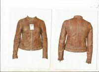 Lady Leather Fashion Jacket
