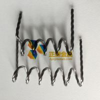High purity 99.95%min tungsten twisted wire for PVD machine used