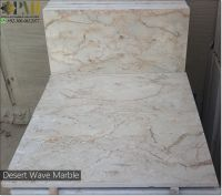 Pakistani marble Desert Wave tiles natural marble