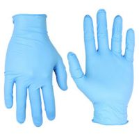 Blue Nitrile Exam Gloves