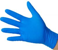 Examination Blue Nitrile Gloves