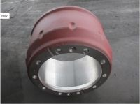 Shacman truck chassis parts Rear brake drum 81.50110.0144