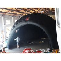 Inflatable black  tent