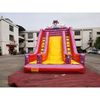 Inflatable outdoor bouncer