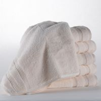 Eliya 70x140 Customized White Bath Towel Sets Pure Cotton For Hotel