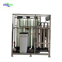 1000LPH Reverse Osmosis water purification plant with CE certificate