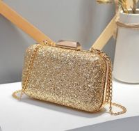 2019 Hot Sale Luxury Beaded Fashion Evening Bag Lady Handbags with Certificate(J323)