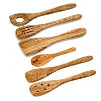 Spatula, spoon, fork, laddle & knife