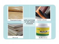 Melamine powder 99.8% CAS:108-78-1 Tripolycyanamide melamine