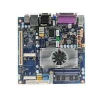 Atom D525 CPU motherboard embedded industrial tablet pc 2GB RAM Hudson EI A50M Chipset support 6*USB 2.0