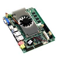 1*Mini-PCIE socket for WIFI/3G embedded industrial tablet motherboard Intel Celeron 1037U processors