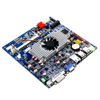 4GB DDR3 motherboard embedded industrial tablet pc 12GB  memory Hudson EI A50M Chipset support 8*USB 2.0
