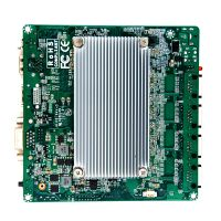 1*Mini-PCIe 1*USB2.0 1*USB3.0 DDR3 8GB Ram Industrial Motherboard support Rich I/O Port and 4*I211AT Gigabit Ethernet