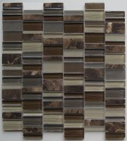Glass and Stone Mosaic - MD-042RANDMS1P