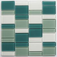 Glass Mosaic - MD-128BLRANDMS1P