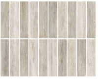 Porcelain tile - AMSTERDAM - Glazed (20 faces)