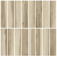 Porcelain tile - ASPEN AMENDOA - GLAZED (16 FACES)