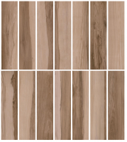 Porcelain tile - ASPEN JATOBA - GLAZED (16 FACES)