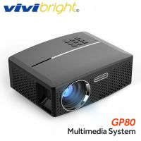 wholesake new  VIVIBRIGHT LED Projector GP80 / UP. 1800 Lumens. (Optional Android 6.0.1, WIFI, Bluetooth Simple Beamer) Support Full HD, 1080P