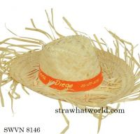 Sombrero Zelio, Natural Beach Straw Hat, Lua Straw Hat