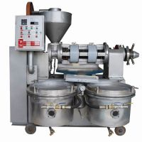 Combined Oil Press With Vacuum Oil Filter