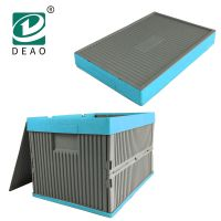 Hot sale products high quality customized foldable plastic storage crate for women