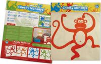 Cheeky Monkeys Wall Graphics