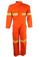 Wholesale Flame Resistant Coverall with Reflective Tape