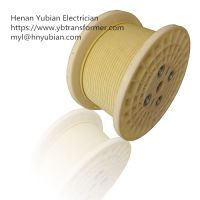 Glass Fiber Covered Polyester Film Covered Flat Wire