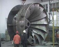 Turbine runner for HPP
