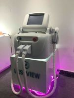 CE ISO13485 TUV Approved Multifunctional SHR/IPL+ Nd Yag Laser hair removal Tattoo Removal Machine