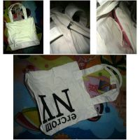 Promotion Canvas  Travel Carrier Hand Shoulder Tote Shopping Bag