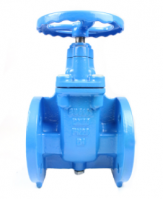 High Performance pn10 pn16 flanged gate valve