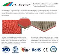 13mm Rubber Roll Track Factory with Durable and Weather resistance EPDM Sports Surface