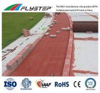 Anti-UV, Anti-Skid, Water-Resistance, Weather-Resistance, IAAF Prefabricated Rubber Running Track