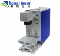 Jiaoxi Portable 20w fiber mini pen laser making machine for PCB, metal, logo marking mini fiber laser