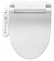 Smart hygiene bidet electric intelligent heated toilet seat and double nozzles cleaning