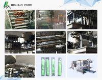 Four side sealing multi-line packing machine(Model:DXDO-J900E, materials:PET/AL/PE, PET/PE, NY/, SACHET PACKING