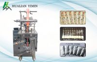 Automatic Liquid / Sauce Packing Machine For Ketchup , Tomato Sauce , Chili Sauce