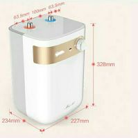 Small kitchen treasure 5L water storage instant thermal home kitchen water heater