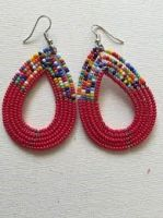 Maasai beaded earings