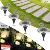 LED Underground Buried Lighting Outdoor Landscape Garden Lamp Stairs Light