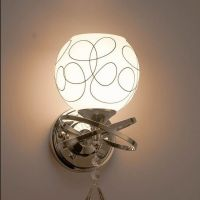 Wall lamp bedside lamp odd double head TV background wall lamp bedroom