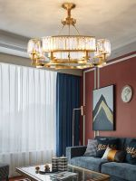 nordic modern contracted crystal chandelier lamps and lanterns