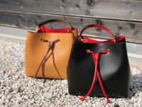 Women bags Dante Agostini Elisa 100% leather saffiano